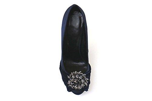 Donna Scarpe Tribunali Raso Blu Eu Haute Couture Am868 37 1tqxwcfvUE