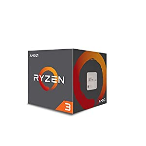 AMD Ryzen 3 1300X Desktop Processor with Wraith Stealth Cooler (YD130XBBAEBOX)