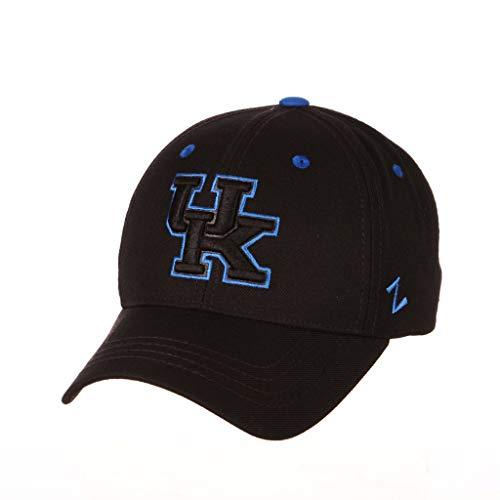 Zephyr University of Kentucky UK Wildcats Top Black Element Mens/Womens Adjustable Baseball Hat/Cap ()
