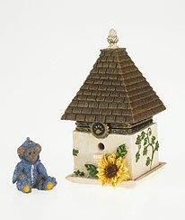 Enesco Boyds Resin Bird Feeder Treasure Box, Trinket Box, (Enesco Trinket)