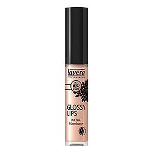 lavera brillant à lèvres – Glossy Lips – Charming Crystals 13 – effet mouillé incroyable – Cosmétiques naturels – Make up – Ingrédients végétaux bio – 100% Naturel Maquillage (6,5 ml)