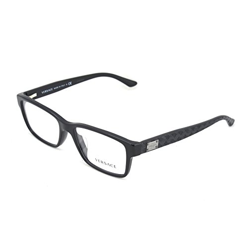 Versace Men's VE3198A Eyeglasses Black - Mens Versace Eyeglasses