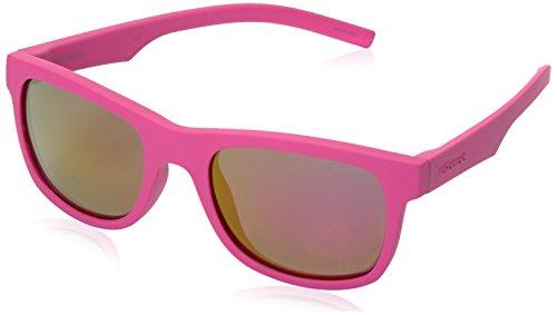 Polaroid Sunglasses Kids' Pld8020s Polarized Wayfarer Sunglasses, Dark Pink/Brown Mirror Polarized, 46 - Polaroid Sunglasses Kids
