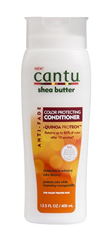 Cantu Shea Butter Anti Fade Color Protecting Conditioner with Quinoa Protein, 13.5 Fluid Ounce (Protecting Colour Conditioner)