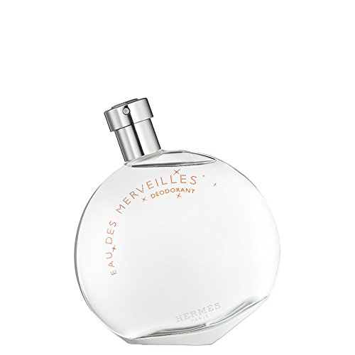 (Hermes Eau Des Merveilles By Hermes for Women 3.3 Oz Deodorant Spray (glass Bottle), 3.3)
