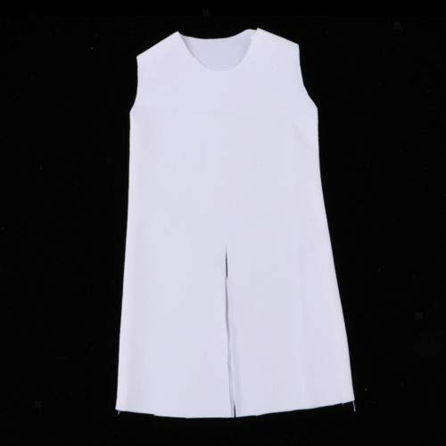 FidgetGear 1/6th Male Female Middle Age Knight's Cloak for 12'' Action Figures White from FidgetGear