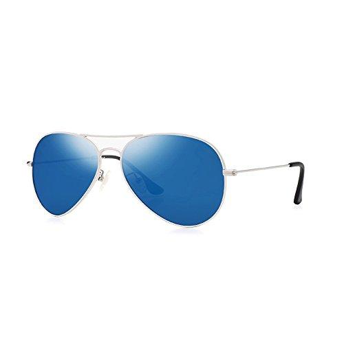 Protection Classiques Soleil contre UV400 Unisexes de à Bleu Lunettes Kalla Aviateur Zx5q40cg