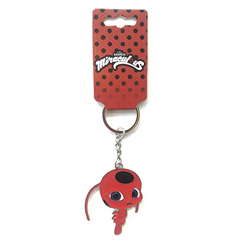 Miraculous Ladybug - Tikki Metallic Enamel Keychain