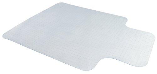 "VIVO Clear Computer Chair Protective Carpet Floor Cover 47"" x 35"" Grip Mat (MAT-C-047)"