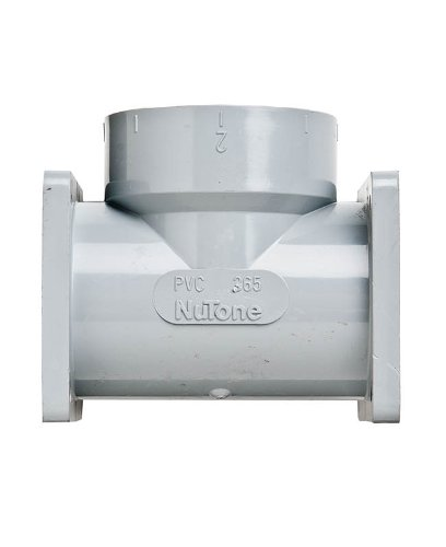 Nutone CF365 Double Flanged Tee Central Vacuum ()