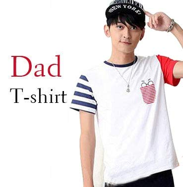 efb808559a06 Family Matching Outfits 2019 Summer Mother Daughter Dresses Family Look  Cotton Striped Patchwork Father Son T-Shirt and Pants   Dad T Shirt