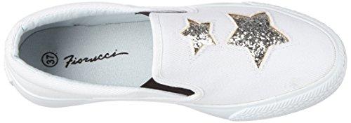 Bianco Bianco Zapatillas Mujer para Fepc014 Fiorucci Blanco nWYBqvxw