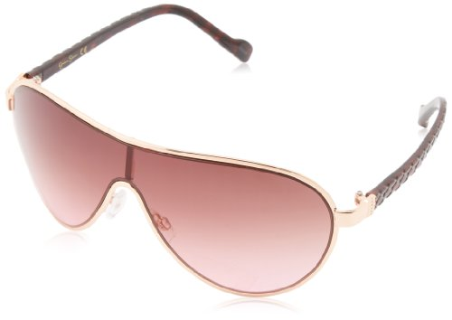Jessica Simpson Women's J5087 RGD Modified Aviator Sunglasses,Rose Gold,62 - Jessica Simpson Sunglasses Aviator