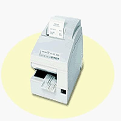 Epson C31C283A8941 TM-U675 Dot Matrix Receipt, Slip and Validation Printer, 9 Pin, USB Interface, Without MICR/Autocutter, Cool White