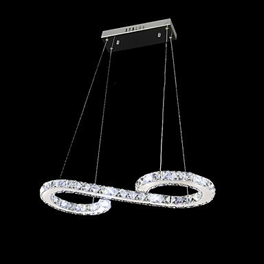 YanCui@ Pendant Lights Crystal/LED Modern/Contemporary Living Room/Dining Room Metal-MS