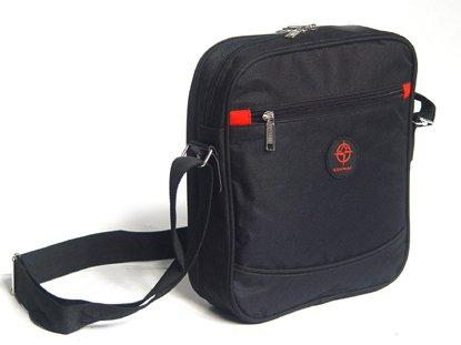 Stylish Heavy Duty Utility Flight Bag Lightweight Compact Airline Friendly Black Grey (Grey) Black