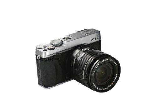 Fujifilm X-E2 Fotocamera Digitale 16 MP, Sensore X-Trans CMOS II APS-C, Ottiche Intercambiabili e Obiettivo Zoom XF18-55 MM F2.8-4 R LM OIS, Argento product image