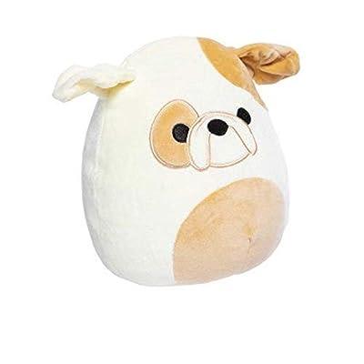 Squishmallow Kellytoy 12 Inch Brock The Bulldog- Super Soft Plush Toy Animal Pillow Pal Pillow Buddy Stuffed Animal Birthday Gift Holiday: Toys & Games