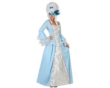 c50002414bf3 Costume da dama barocca turchese per donna M   L  Amazon.it  Giochi ...