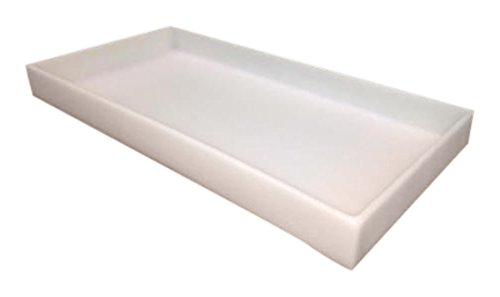 Scientific Plastics T522212-101 Secondary Containment Tray, 1'' Side Wall, 12'' W x 22'' L