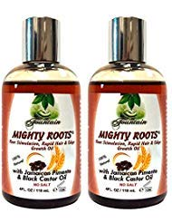 Fountain MIGHTY ROOTS with Jamaican Pimento and Black Castor Oil (Pack of 2)