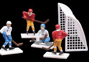Cake Topper Decoration Kit (Cakesupplyshop 8 Piece Hockey Players & Goals Set Cake Topper)