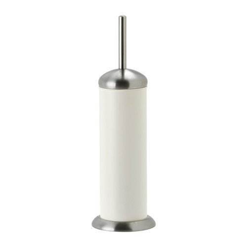 IKEA MJOSA - Toilet brush/holder White