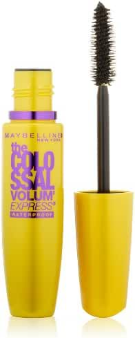 Maybelline New York Volum' Express The Colossal Waterproof Mascara, Glam Black, 0.27 fl. oz.