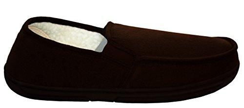 Para nbsp; Uk Invierno New Comodidad Sintética Forro Cálido Piel 7 Tipo Ligero Zapatos Zapatillas Mocasín Con Talla Hombre dZ8q8T