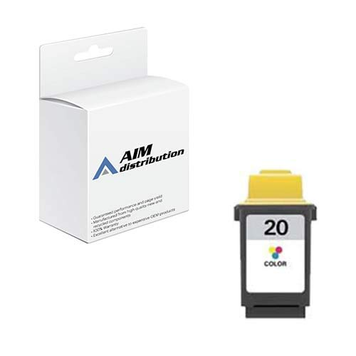 (AIM Compatible Replacement for Olivetti 911701 Color Inkjet (275 Page Yield) - Compatible to Lexmark 15M0120 - Generic)
