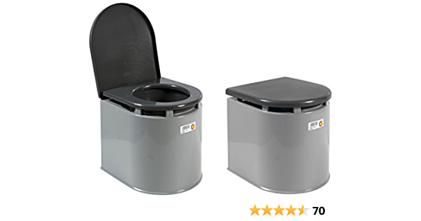 Giganplast 3573900 WC Chimico per Camper, Grigio