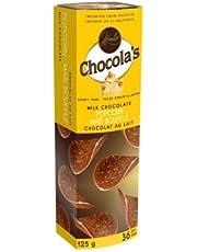 Hamlet - Crispy Thins - Milk Chocolate - Popcorn, 36 Count