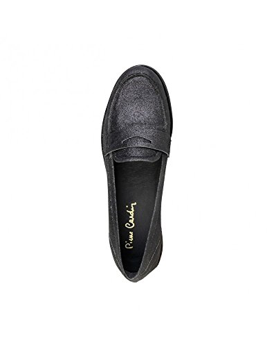 Penny Flat Women's Leather Black 1154102 Pierre Loafer Cardin AqZAz