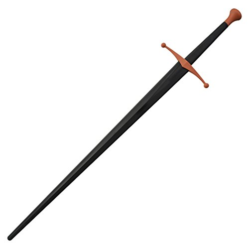 Red Dragon Armoury Synthetic Sparring Longsword - Black Blade with Red Hilt