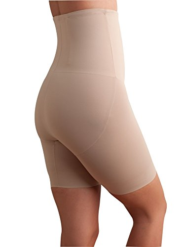 TC Fine Intimates Extra-Firm Control High-Waist Thigh Slimmer, L, (Extra Firm Control Long Leg)