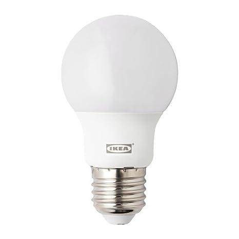Kit de bombillas LED para IKEA-Lámpara de pie con luz de lectura NOT-Lámpara de lectura 3-Lote de 2 bombillas LED E27, 1 LED, E14: Amazon.es: Iluminación