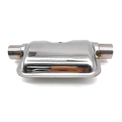 Universal Design Acier Inoxydable Terminant Tuyau De Silencieux Dirt Street Pit pour V/élo Moto 38-51mm