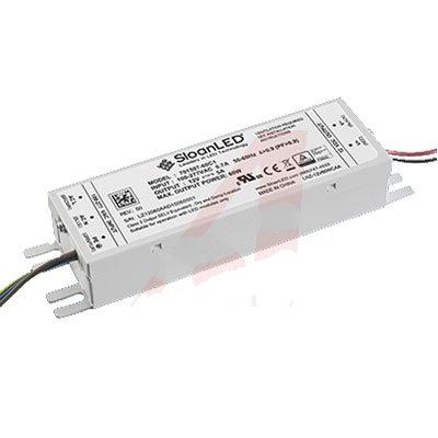 SloanLED 701507-60C1 Power Supply AC-DC 12V@5A 100-277V In Sealed Panel Mount 60W PFC 60C1