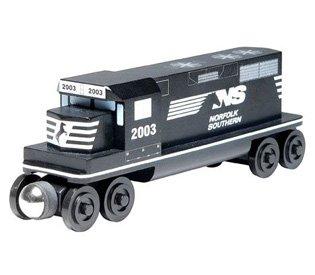 (Norfolk Southern GP-38 Diesel Engine - Wooden Toy Train by Whittle Shortline Railroad)