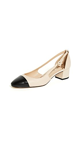 Sam Edelman Women's Summer Sand/Black  Leah Cutout Block Heel - 10 B(M) US ()