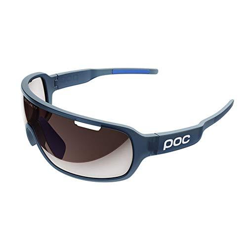 POC DO Blade, Versatile Sunglasses, Lead Blue Translucent