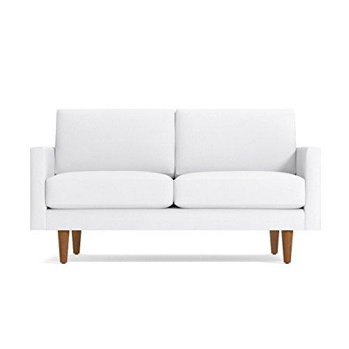 Scott Apartment Size Sofa from Kyle Schuneman White