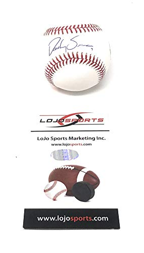 Dansby Swanson Atlanta Braves Signed Autograph Official MLB Baseball LoJo Sports Authentic - Autographs Authentic Sports