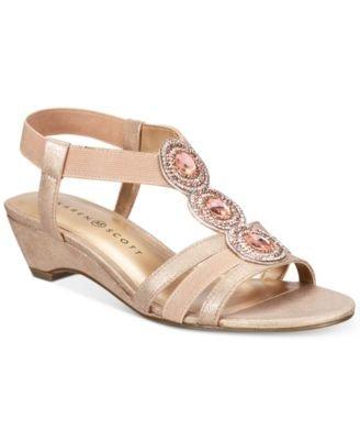asha Fabric Open Toe Special Occasion, Gold, Size 7.5 6Iju ()