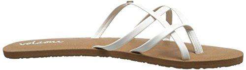 White Dress School Women's New Volcom Sandal XZqaTPvw