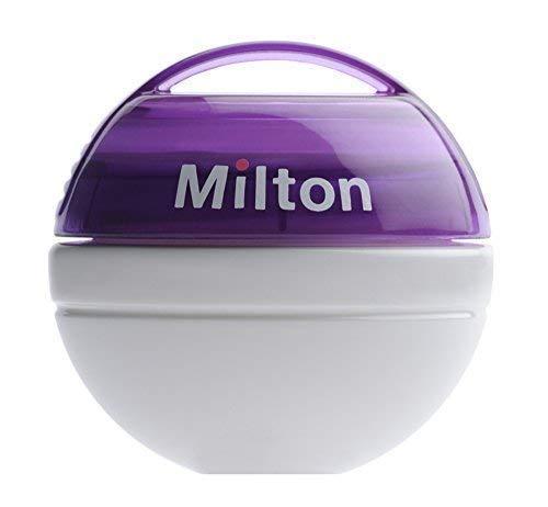 Morado Milton Mini Port/átil Chup/ón CHUPETE Esterilizador /& tabletas 10pk