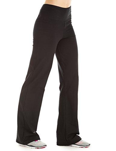 Winshape WH3 Pantalon d'entraînement pour femme Coupe étroite Pour loisirs et sport XS Noir - Noir