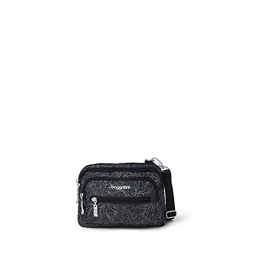 baggallini Triple Zip Crossbody