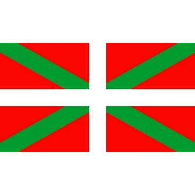 *** PROMOTION *** Drapeau Ikurrina Euskadi Pays Basque - 150 x 90 cm (Uniquement chez le vendeur PLANETE SUPPORTER = 100% conforme à l'image)