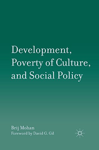 Download Development, Poverty of Culture, and Social Policy Pdf